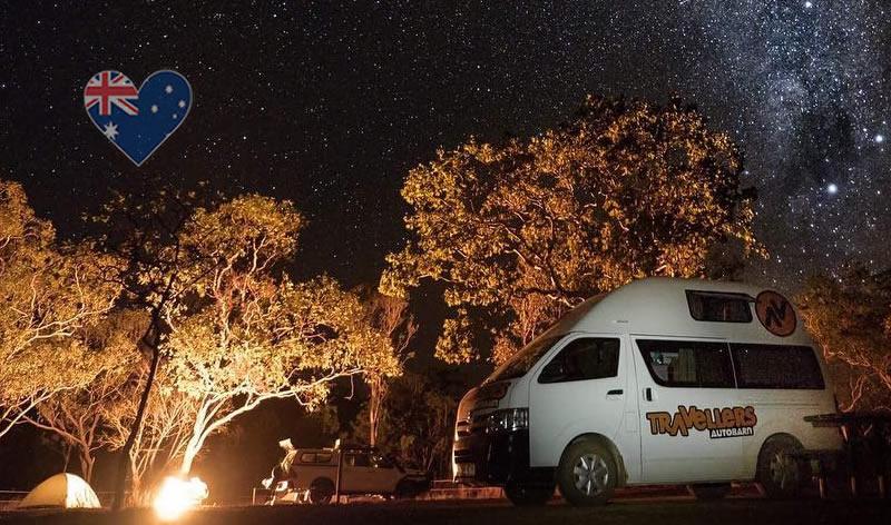 Campervan Australien