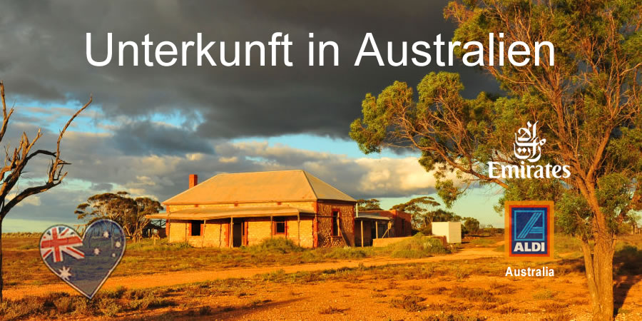 Unterkunft Australien