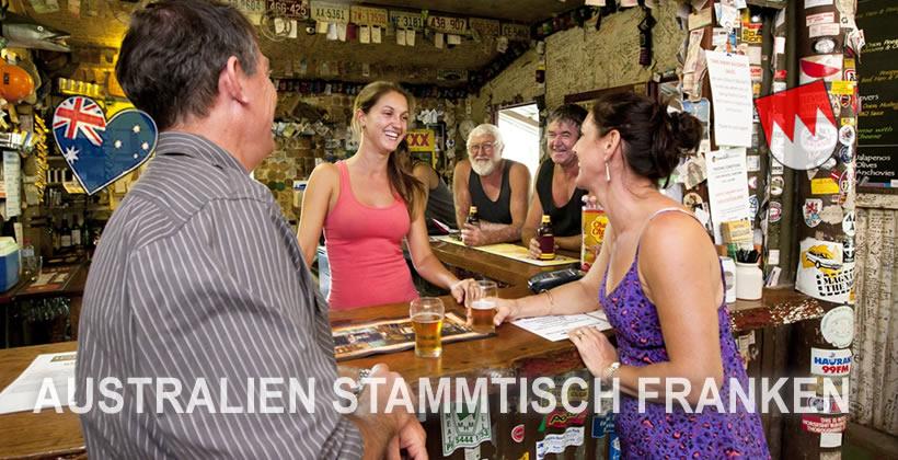 Australien Stammisch Franken