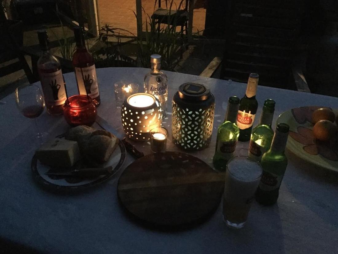 Gemütlicher Abend Australien