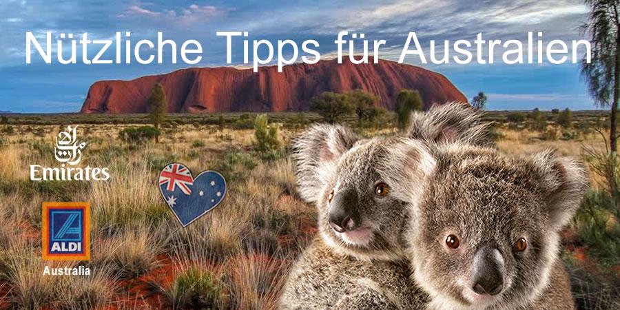 Nützliche Tipps Australien